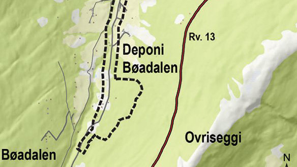 Reguleringsplan for Kålsetvegen og reguleringsendring for massedeponi i plan rv. 13 Bøadalen–Tistel